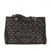 Chanel Bolso Shopping Caviar Negro