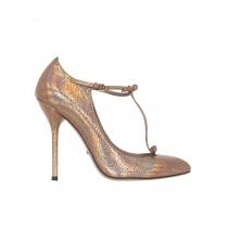 Gucci Zapatos Beverly Salmón Glitter 37