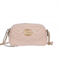 Gucci Marmont GG Bandolera Rosa