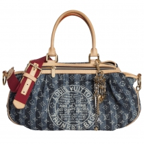 Louis Vuitton Bolso Denim Cruise Raye GM
