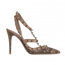 Valentino Zapatos  Rockstud Pitón 39.5