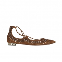 Aquazzura Zapatos Christy Folk Ante 40