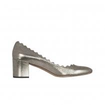 Chloé Zapatos Lauren Dorados T 40