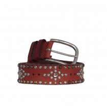 Isabel Marant Cinturón Rojo Tachuelas 85