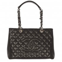 Chanel Tote Shopping Caviar Negro
