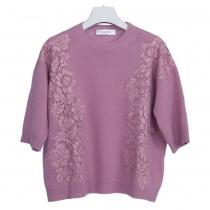 Valentino Jersey Rosa con Encaje T S