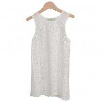 Stella McCartney Top Blanco Encaje T XS