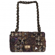 Chanel 2.55 Byzance Lesage Tweed