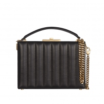 Saint Laurent Bolso Box Nan Negro