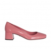 Prada Zapatos Salón Charol Rosa T 40