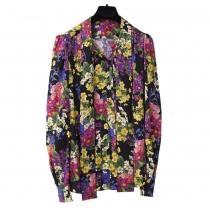 Dolce & Gabbana Blusa Seda Floral T 38
