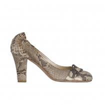 Dior Zapatos Salón Piel Pitón T 40