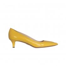 Prada Zapato Charol Amarillo T 40