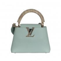 Louis Vuitton  Capucines Mini Vert d´Eau