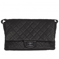 Chanel 2.55 Messenger Easy Negro