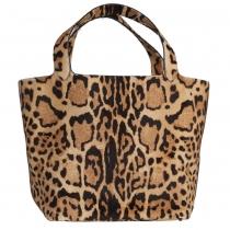 Alaïa Bolso Tote Estampado Leopardo