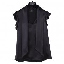Etro Blusa Seda Negra T 36
