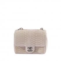 Chanel Mini Classic Flap Pitón