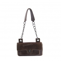 Chanel Bolso Distressed Marrón