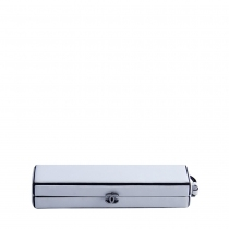 Chanel Clutch Minaudiere Blanco