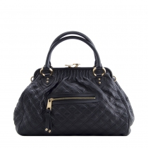 Marc Jacobs Bolso Quilted Stam Negro
