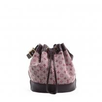 LV Bolso Noelie Mini Lin Cherry Bucket