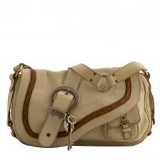 Dior Saddle Gaucho Blanco
