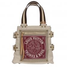 LV Bolso Shopper Globe Trunks Cavas PM