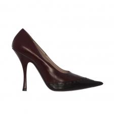 Miu Miu Zapatos Salón Burdeos T 37.5