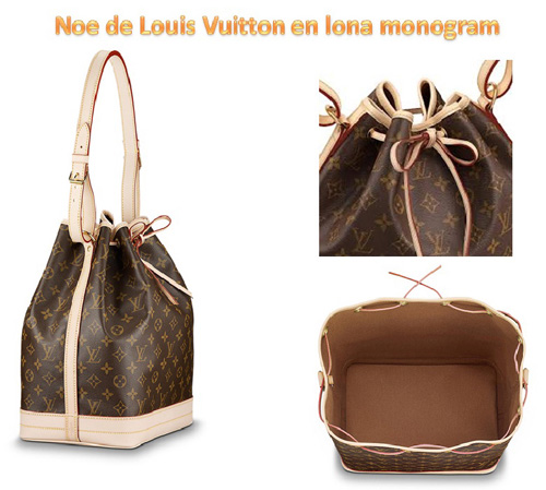 40465ba7e963 Marc Jacobs en su último desfile para Louis Vuitton reinterpretó el modelo  original bautizándolo como New Noé Bag y dándole un aire más actual y  moderno.